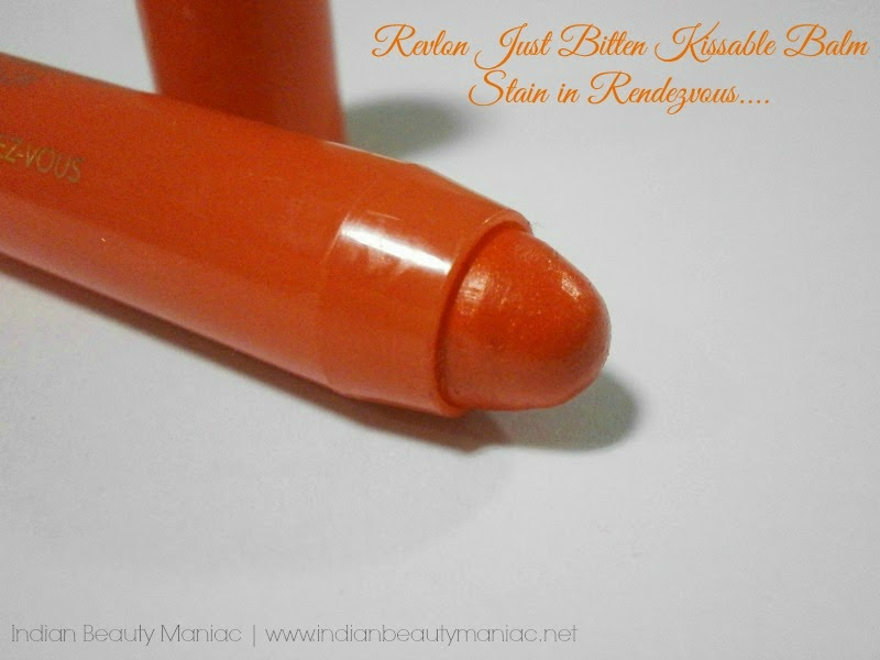 Revlon Just Bitten Kissable Balm Stain in Rendezvous Bullet