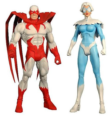 DC Universe Classics Wave 20 by Mattel - Hawk &amp; Dove Action Figures