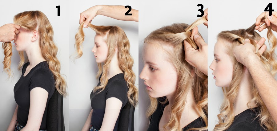Tendencias de peinados fáciles rápidos y elegantes mas  - Fotos De Peinados Con Trenzas Y Pelo Suelto