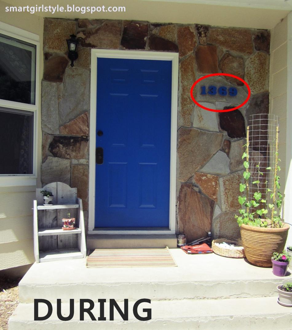 Black front door blue house cobalt blue front door