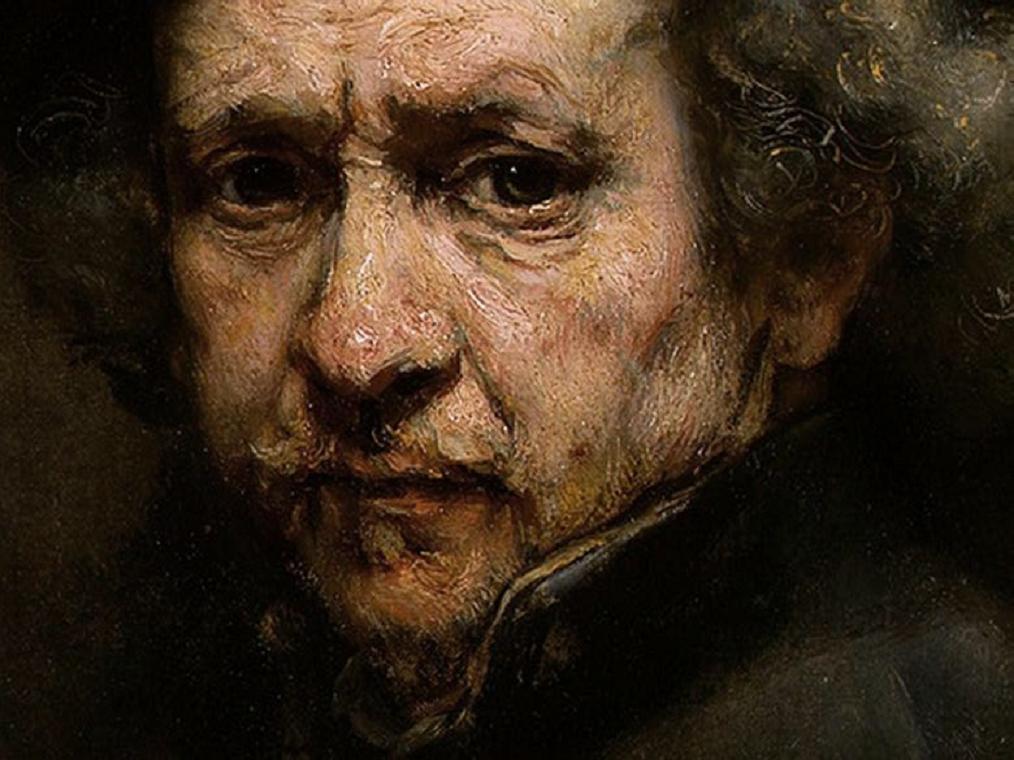 Rompedas rembrandt self portrait for Autoportrait miroir