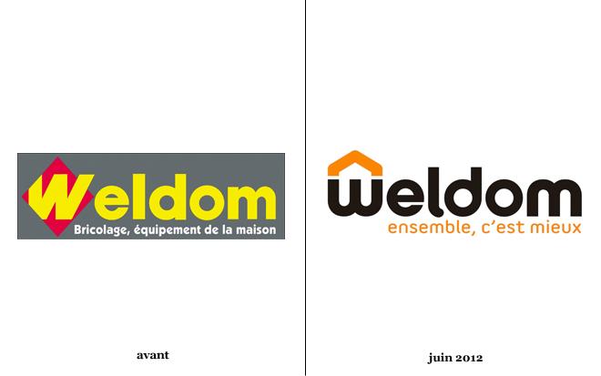 les magasins weldom changent de logo logonews