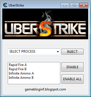 UberStrike Hack Unlimited Ammo and Rapid Fire