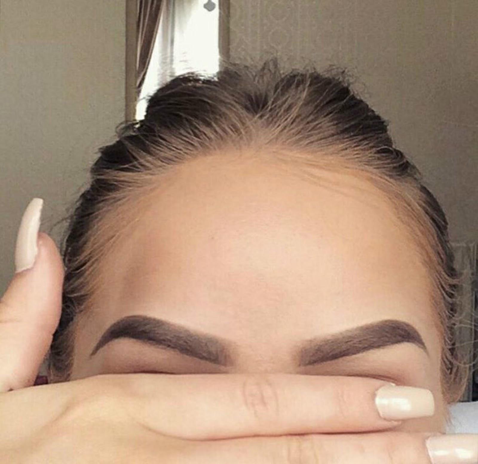 Ombré de sobrancelhas