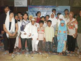 Buka bersama dan santunan anak yatim/piatu di PKBM APKLI