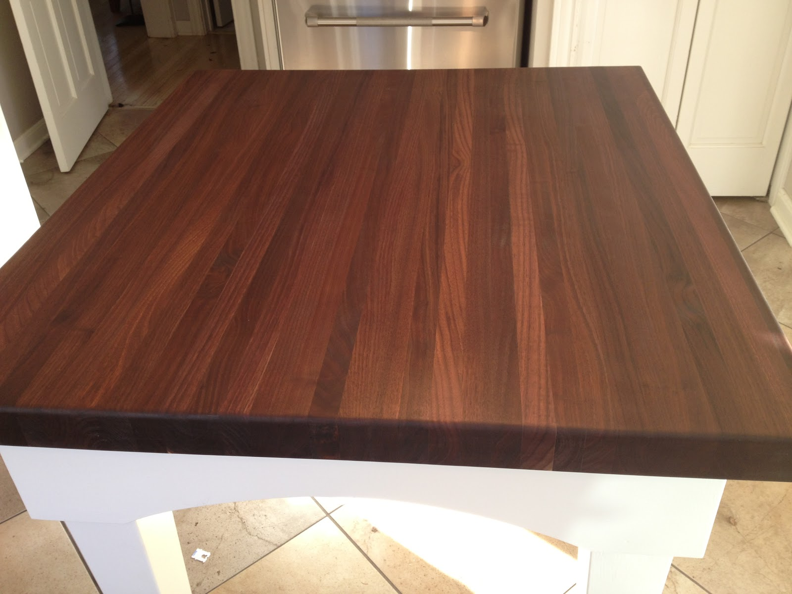The Impatient Gardener Giveaway Winners And Little Changes That Make A Big  Difference. Waterfall Butcher Block ...