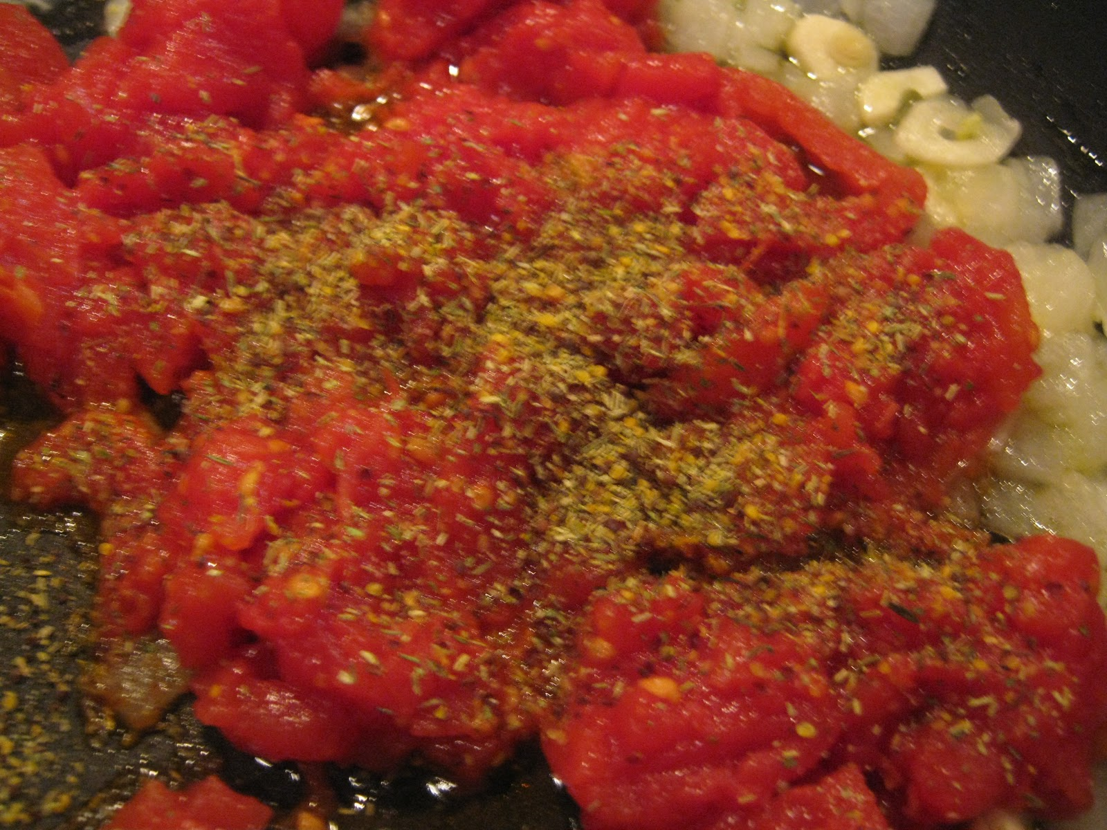 Gadding About with Grandpat: Skillet Flounder with Tomatoes