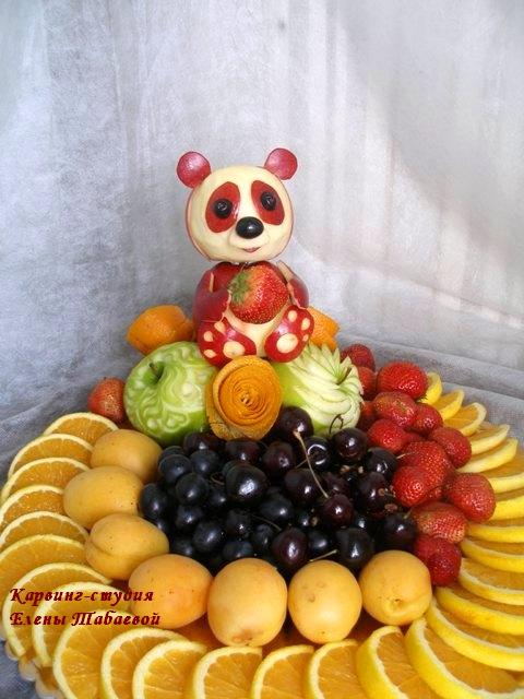 фруктовый карвинг нарезка фруктов южно-сахалинск