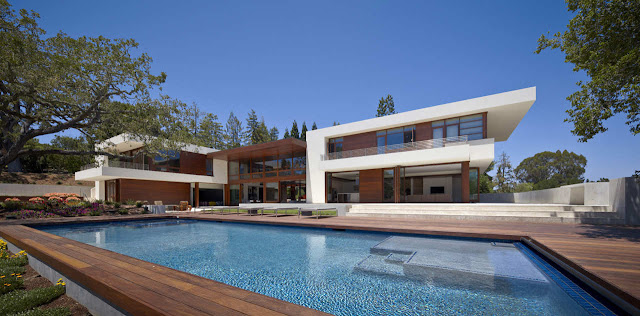 Beautiful modern Oz House in Silicon Valley