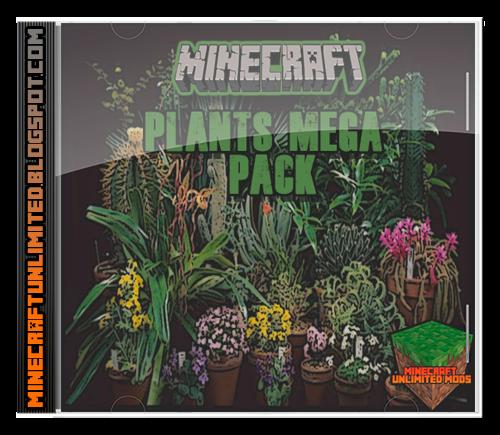 Plant Mega Pack Mod Minecraft
