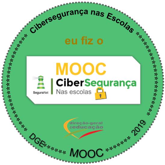 Selo Digital - MOOC - CiberSegurança nas escolas
