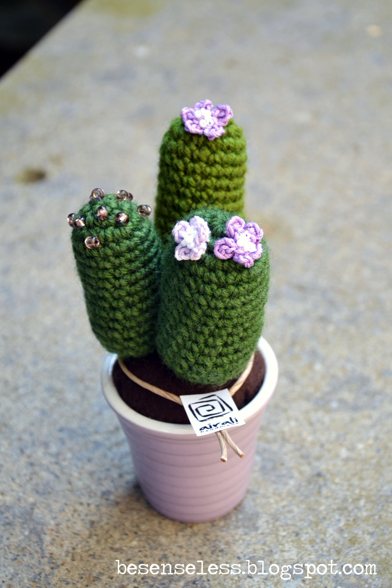 Cactus Tondo Amigurumi : Airali design. Where is the Wonderland? Crochet, knit and ...