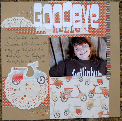 Camp Loucon Scrapbooking