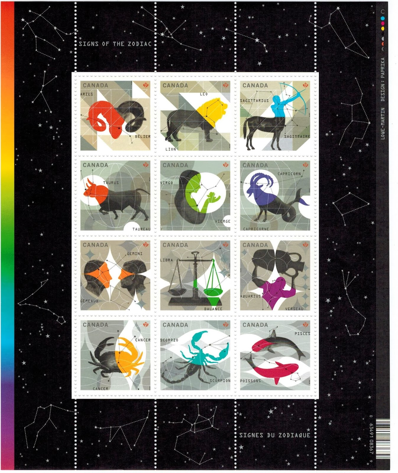 Canada Goose kids outlet authentic - Postal History Corner: Zodiac Stamps : 2011 - 2013