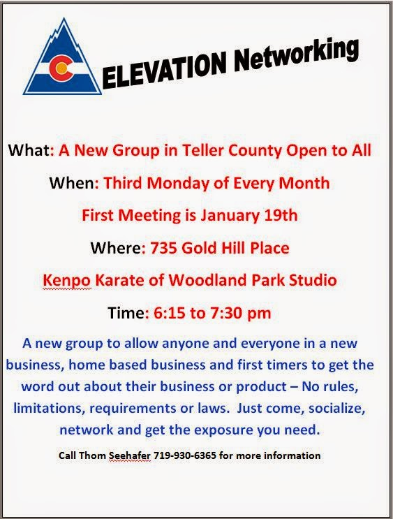 A New Group in Teller County Open to All  When: Third Monday of Every Month