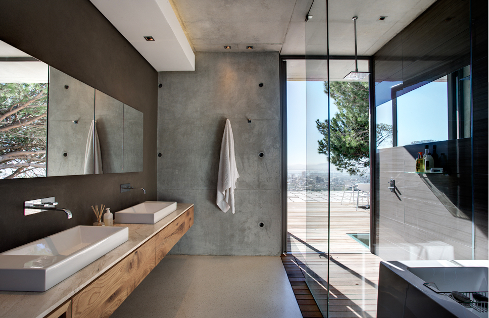 Added luxury for South african bathroom designs