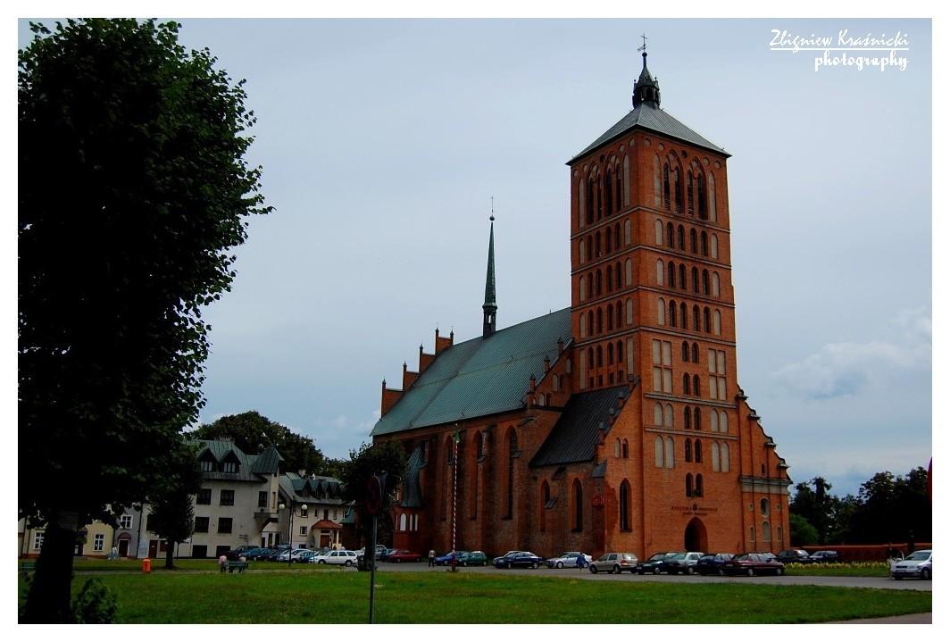 Braniewo. Bazylika pw. św. Katarzyny