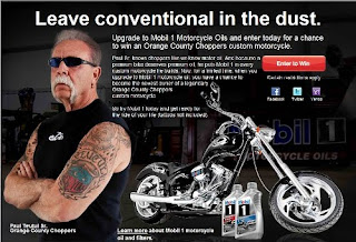 Orange County Choppers Custom Motorcycle Sweepstakes