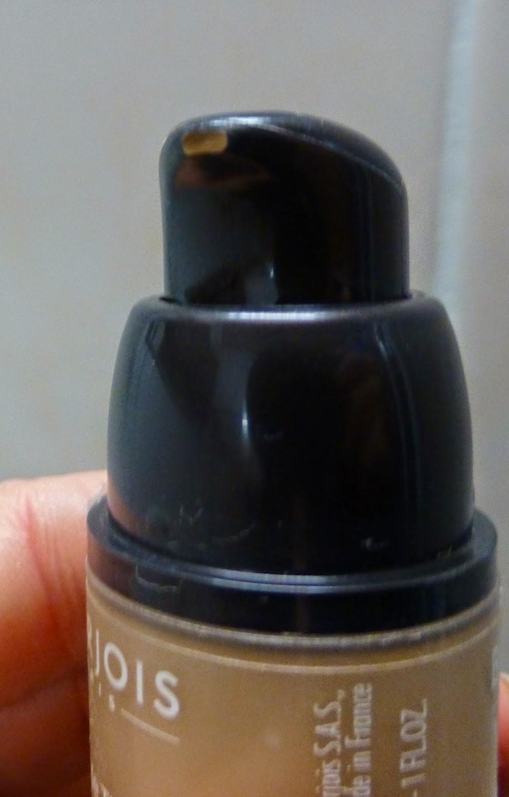 Bourjois Healthy Mix Foundation pump dispenser