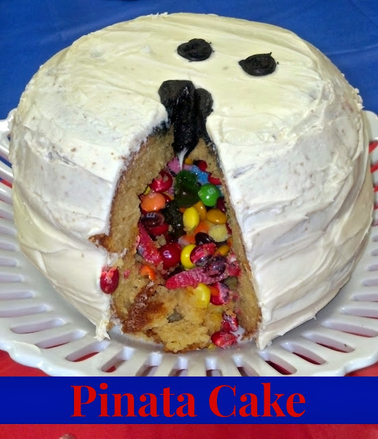 Pinata Cake #bowling #cake #pinata #birthday #party #cake #kids