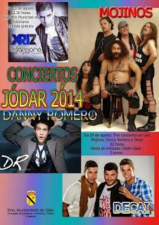 Jódar - Feria de Septiembre 2014 - Programa de Conciertos
