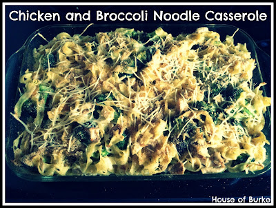 House of Burke: UN-Tasty Tuesday: Chicken and Broccoli ...