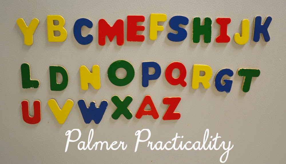 another favorite is when some of the letters are mixed up and the kids will have to put the letters back in the right order