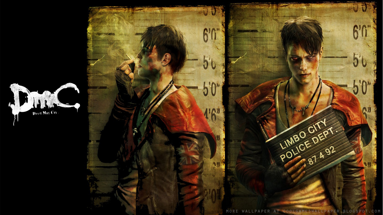 Dmc devil may cry 2013 wallpaper cool games wallpaper devil may cry 2013 wallpaper voltagebd Images
