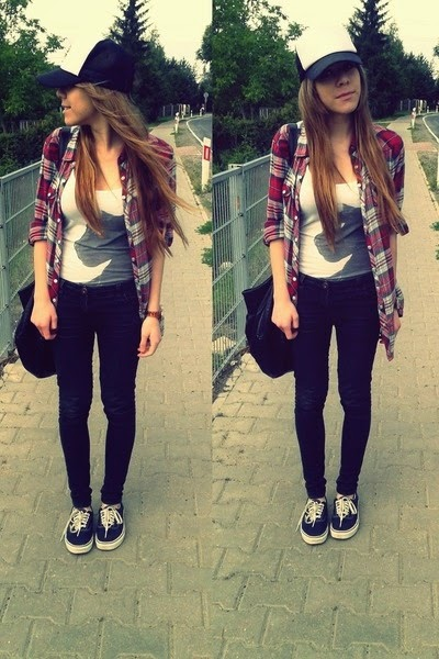 Cute outfit with vans | Women World Of Fashion