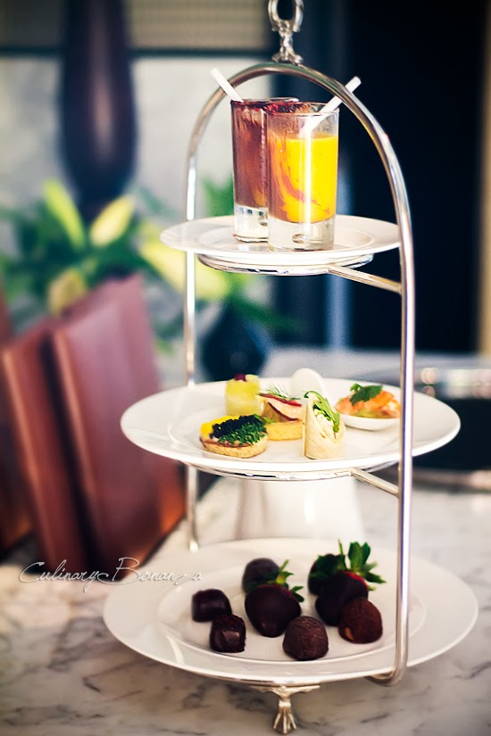 Godiva Allure High Tea at Keraton Lounge