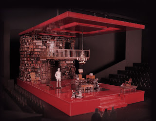 "The Set Design of ""Who's Afraid of Virginia Woolf ..."