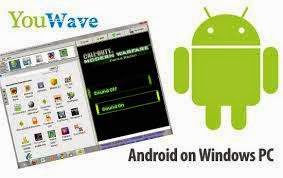 YouWave Android العربية تطبيقات الاندرويد الكمبيوتر