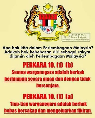 Permit Himpunan Aman  - Rakyat Di Dahulukan