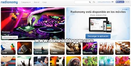 Crea tu radio gratis en internet con Radiomy