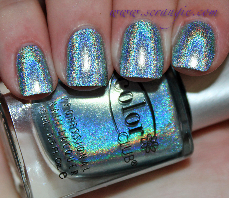 Color Club Halo Hues Holographic Nail Polish Collection Spring 2017 Swatches And Review