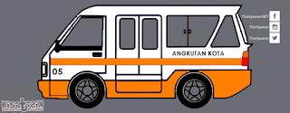 Trayek dan Info Angkot 05 di Tasikmalaya | Kisatasik