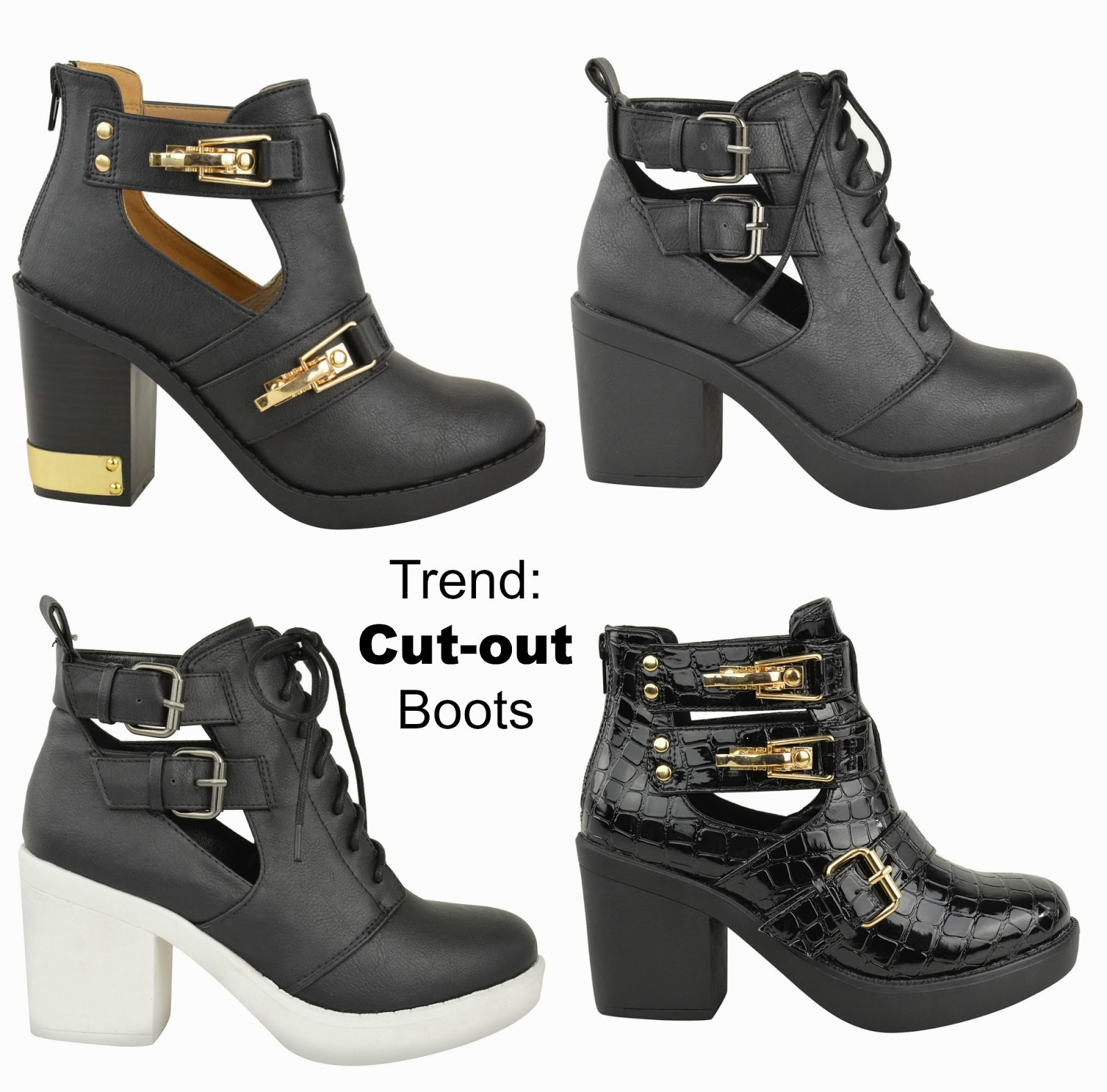 autumn winter trend cut out boots love wardrobe. Black Bedroom Furniture Sets. Home Design Ideas