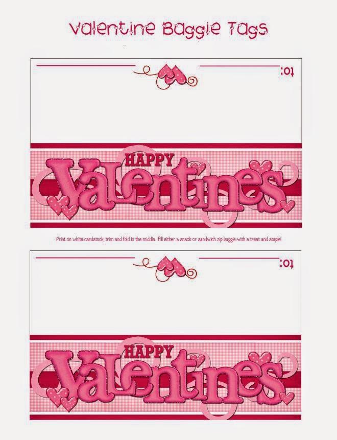 San Valentín: Etiquetas para Bolsas de Golosinas para Imprimir ...