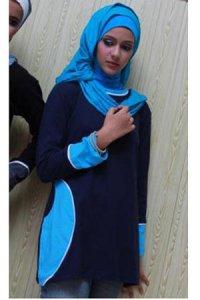 UKHTI Teens UT29 - Biru Dongker (Toko Jilbab dan Busana Muslimah Terbaru)