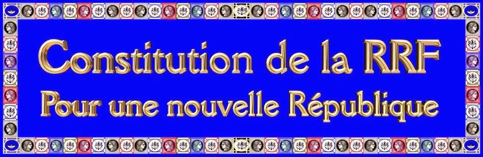 La Constitution de la RRF