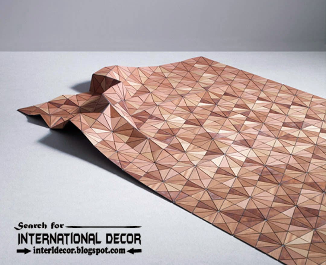 New collection of Eco-friendly wooden carpet and rugs designs