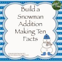 http://www.teacherspayteachers.com/Product/Build-a-Snowman-Addition-Facts-Making-Ten-999995