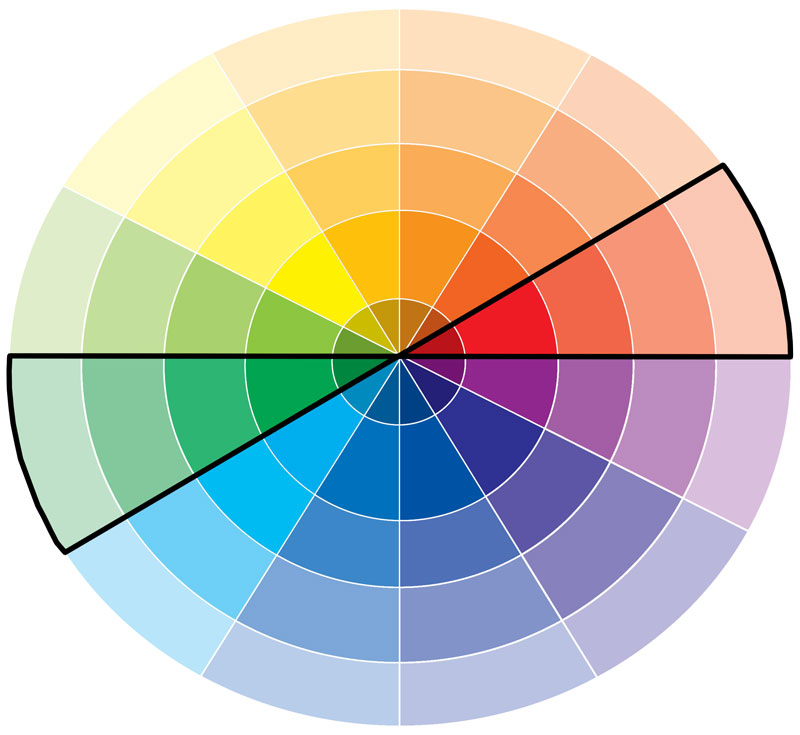 Brown Color Wheel Images