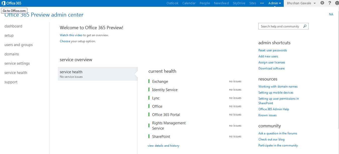 Passionate techie future of office365 development napa - Formation administration office 365 ...