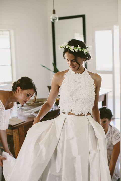 eres una novia crop top? - quiero una boda perfecta - blog de bodas