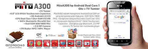 Mito A300 Spesifikasi Dual Core, Harga 699rb