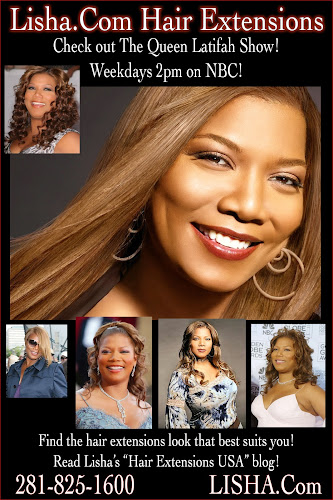 Queen Latifah Clip On Hair Extensions 47