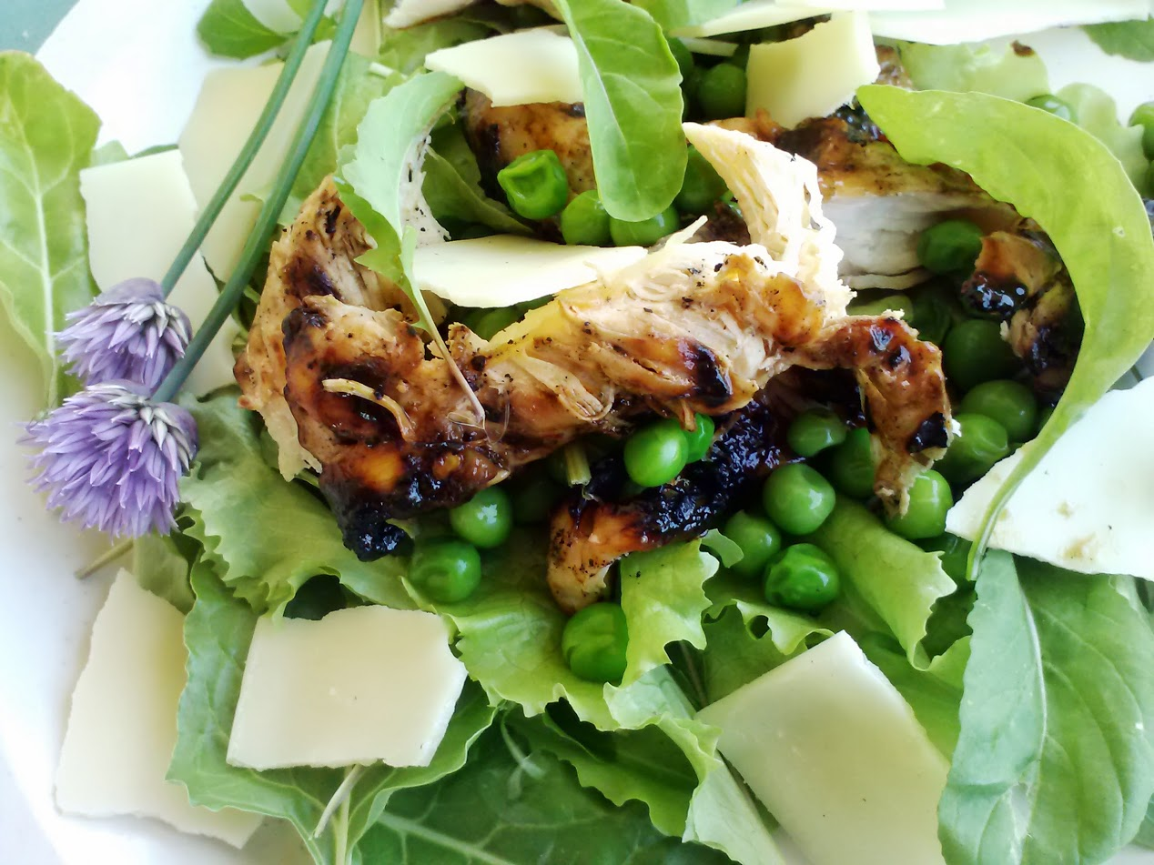 ... style chicken new york style chopped salad caribbean style chicken