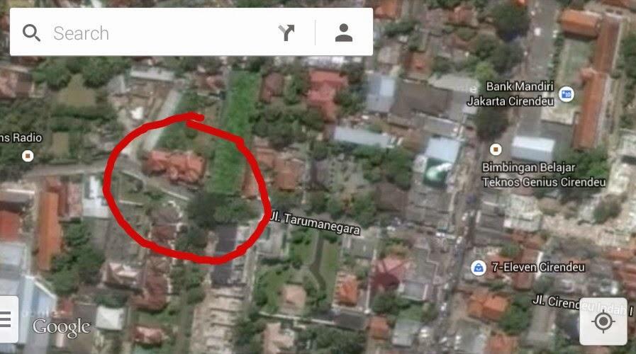 peta lokasi syuting sinetron jilbab in love