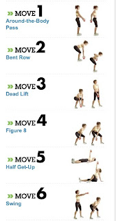 Kettlebells will help strengthen arms, legs, and your core.